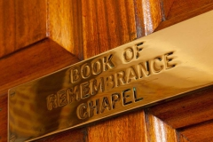 Book of Remembrance Chapel - West Herts Crematorium